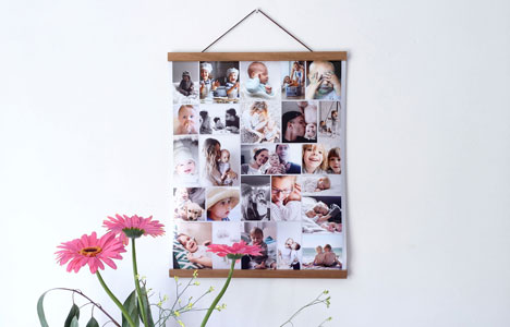 poster hanger for your photo collage