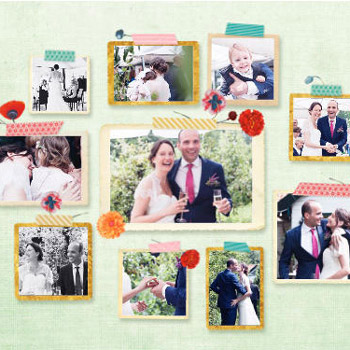 Wedding photo collage Pimpelmees