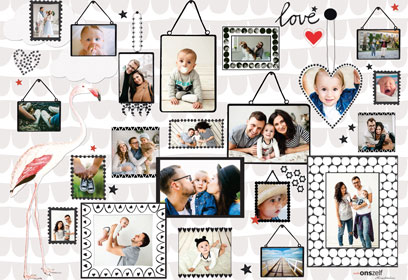 Collage with Baby photos