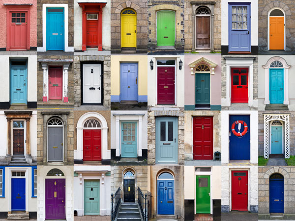 Photo Collage with doors or windows - EasyCollage