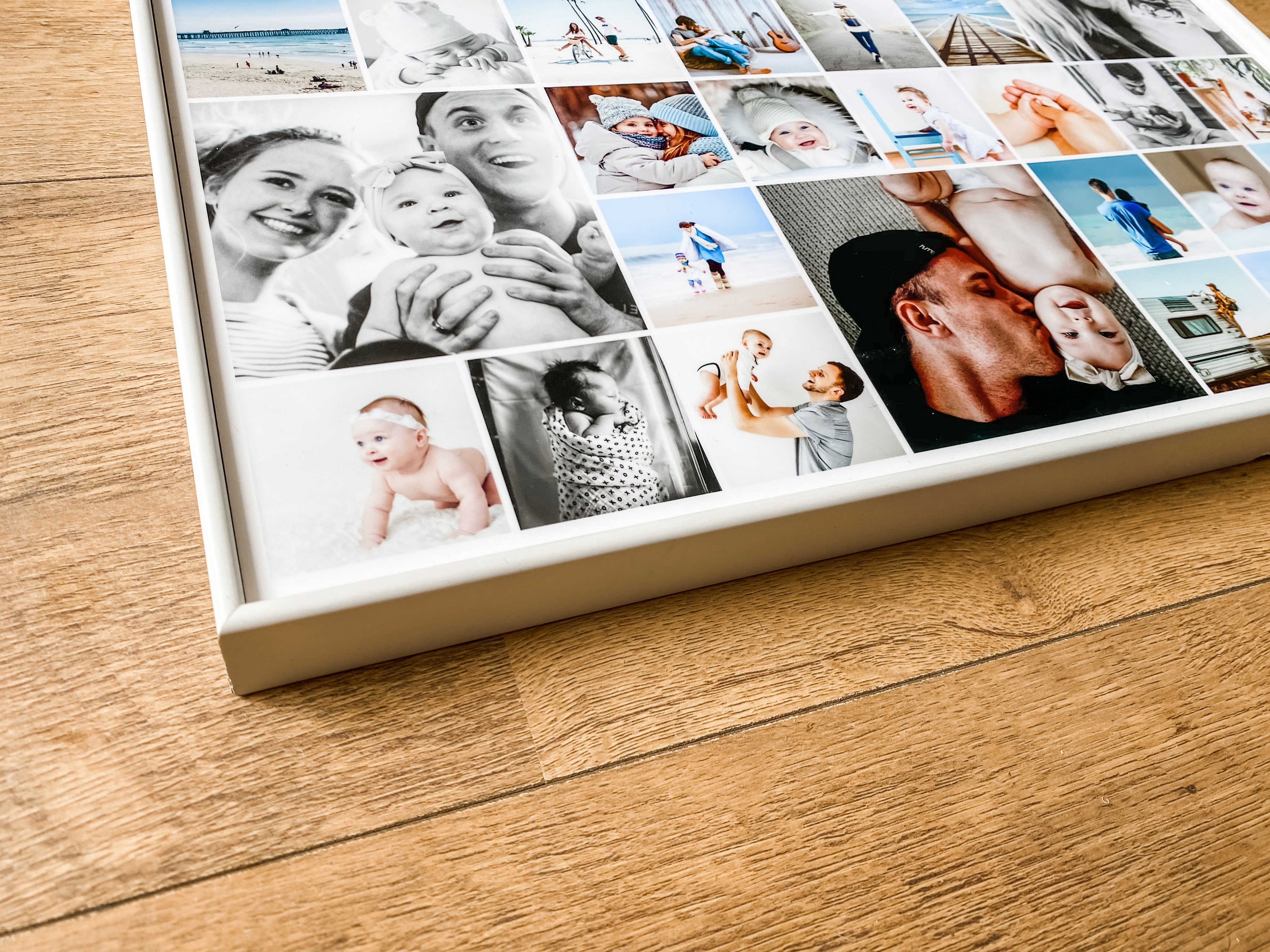 framing your photo collage